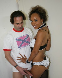 Aja Cummings White Wife Black Cock