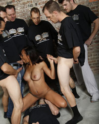 Cherry Hilson Interracial Gangbang Thumbs