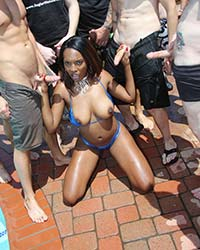 Black Dick Pictures Daya Knight