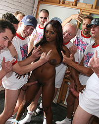 16 Hard Core White Men Fucking Black Women   Jada Fire